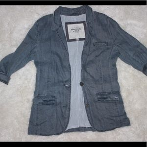 Abercrombie and Fitch Rustic Blazer